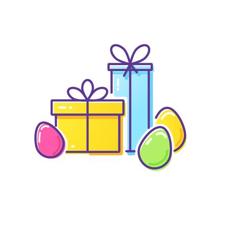 Easter vector logo.