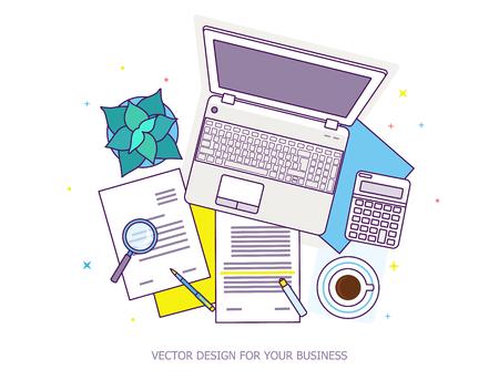 Baners de diseño plano para la educación en línea Vectores