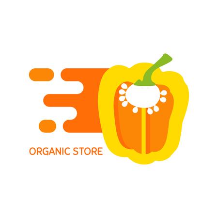 Vector logo for organic store