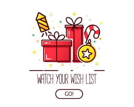 Christmas wish list logo
