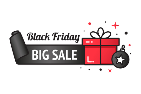 Black friday sale banner Stok Fotoğraf - 88590974