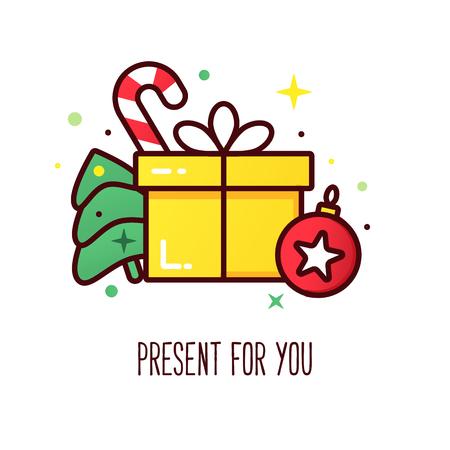 Christmas presents, Christmas card