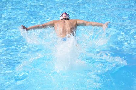 natation: NATATION Foto de archivo