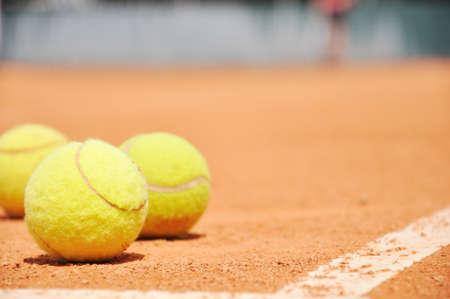 Tennis balls Standard-Bild