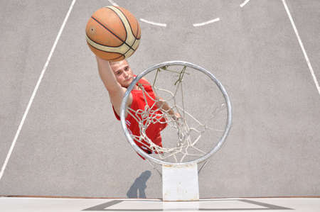 Basketball player shooting Stock Photo - 12780985