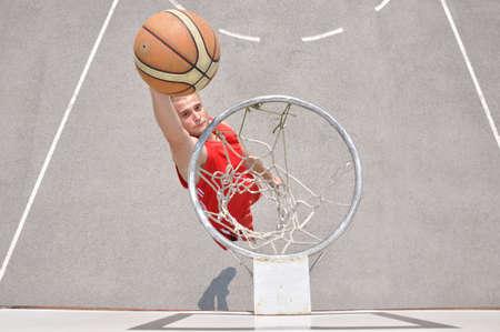 Basketball player shooting Stock Photo - 12780985