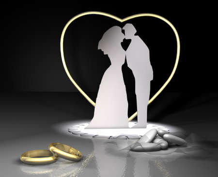 comfit: rings and comfit wedding ceremony gold