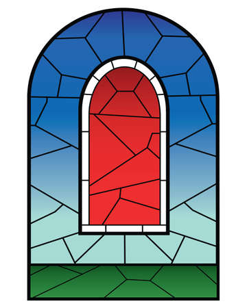 religious stained glass windows