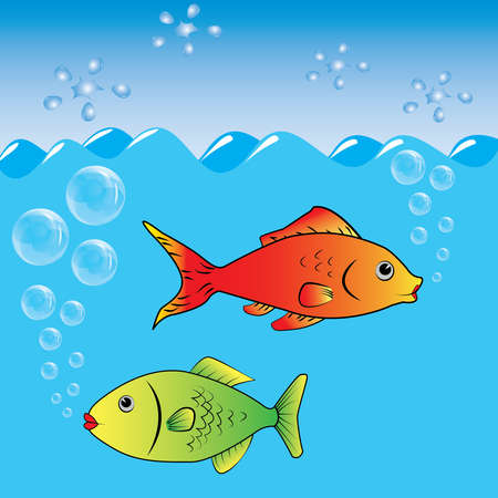fish marine ocean food nature Vector