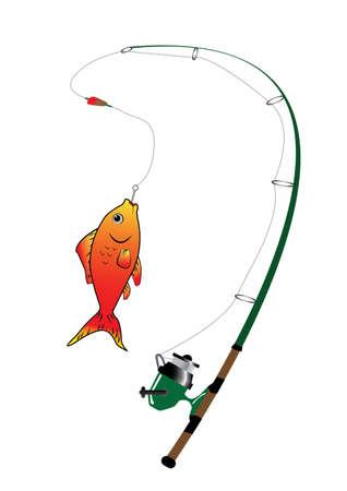 fishing food  Illustration