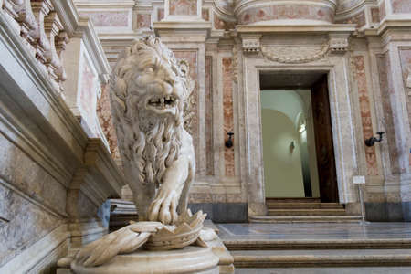royal palace in caserta Editorial