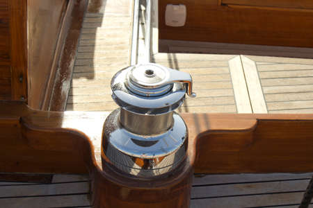 sailboat detail winch