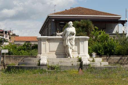 cimarosa statue