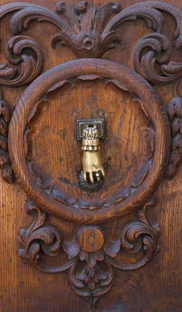 Hand Door Knocker Photo