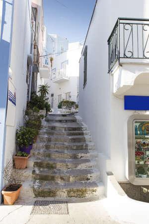 pontine: Street of Ponza