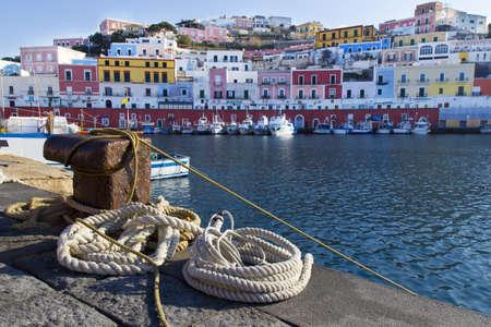 pontine: Ponza harbor