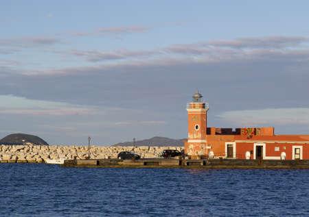 pontine: Ponza lighthouse