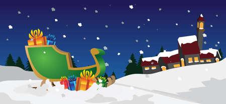 christmas night: xmas scenes