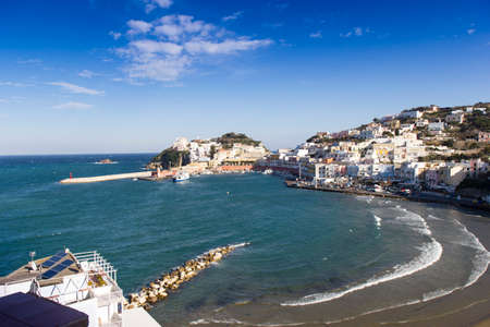 pontine: View of Ponza Stock Photo