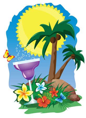 juice drinks on the island