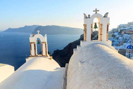 church bell: Santorini orthodox church bell