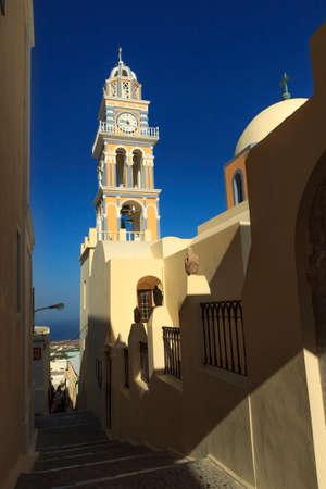 fira: Catholic cathedral in Fira Santorini