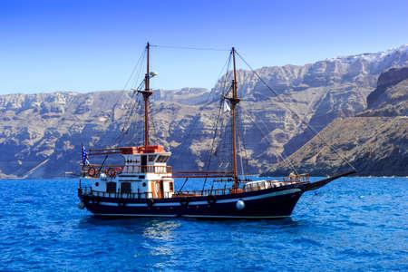 cruising: greek gulet Stock Photo
