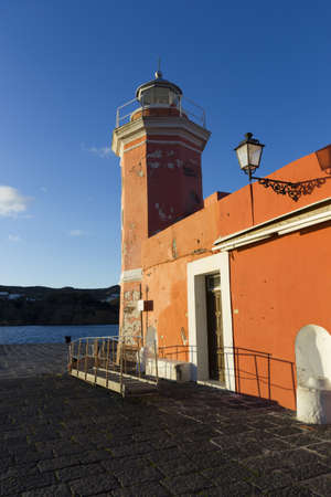 pontine: ponza lighthouse
