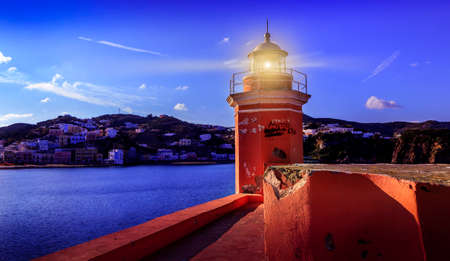 pontine: Ponza island italy lighthouse