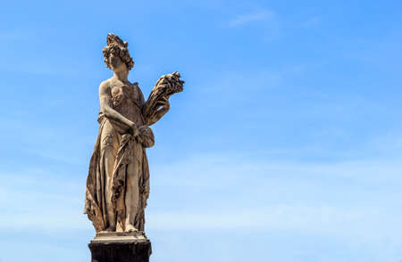 florence italy: florence italy statues Stock Photo