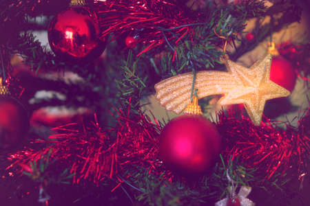 christmas tree detail religious holiday