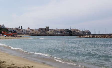 ischia forio italy chiaia beach Stock Photo