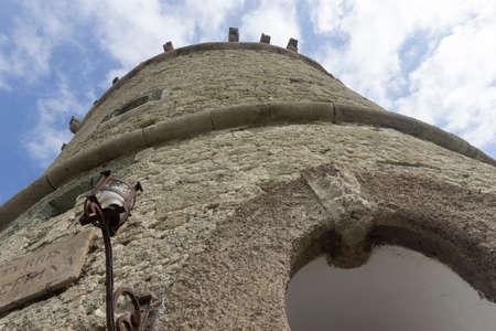 torre del torone ischia forio Stock Photo