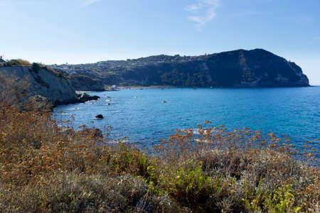 ischia forio italy cava dellisola citara beach Stock Photo