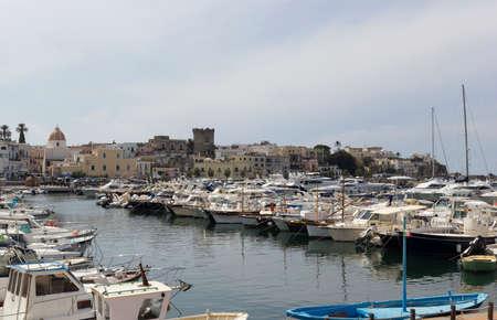 ischia forio italy harbour