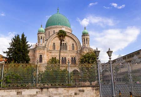 florence jewish synagogue mosque (Tempio Maggiore Israelitico di Firenze, 1848) Archivio Fotografico