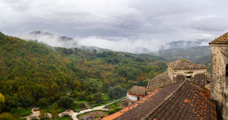 ancient village of Prata Sannita