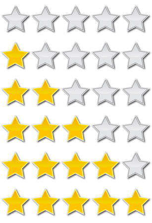 five stars: rating system