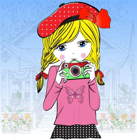girl: Cute girl
