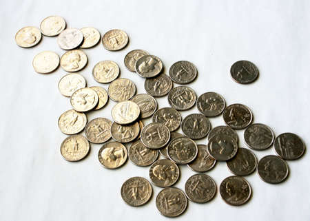 bisiness: coins Stock Photo