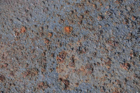 Heavily corroded iron texture, the color of rust Stock Photo - 11307472