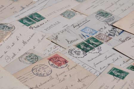 retro postcards Stock Photo - 11544413