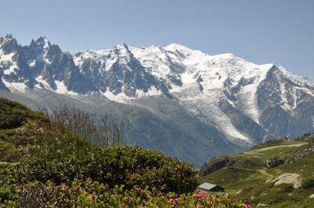 picturesque mountain views Stock Photo