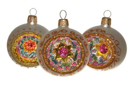 Handmade Christmas ornaments, the beauty and splendor photo