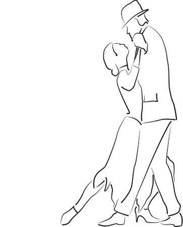 dancer male: Tango