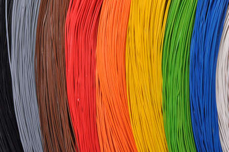 The colors in broadband networks photo