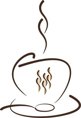 coffee bar Stock Illustratie
