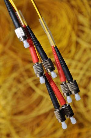 Combination of one of several basic optical plug  photo