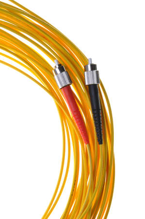 optical fiber: Optical fiber connectors