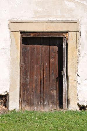 Old doors forgotten secrets photo